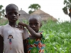 Children are particularly vulnerable to malaria. The village leader says that before the IRS campaign, this village of 300 people buried about 15 children per year. They suspect most of them died of malaria.