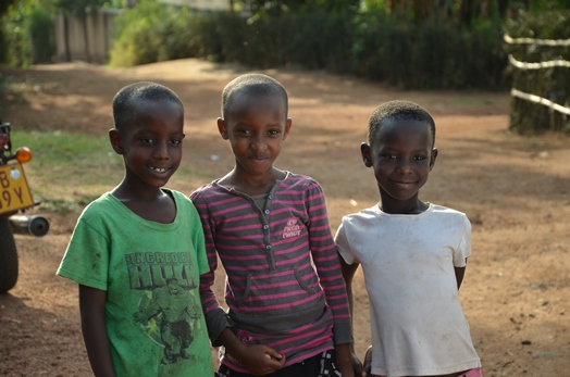 Rwandan children. Photo taken by Erin Schiavone