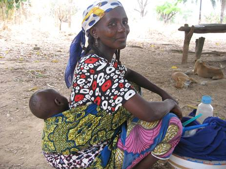 Nigerian beneficiary. Photo Credit: Lena Kolyada
