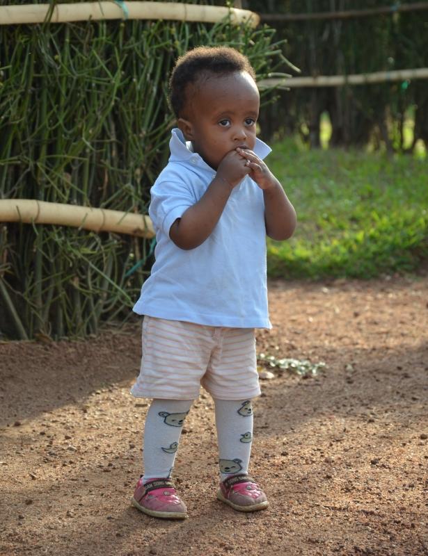 Approximately 610,000 children in Rwanda are orphans, according to UNICEF.