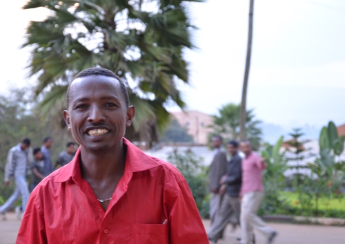 Abebe Asale is a PhD student at Jimma University. He's one of the many scientists who will benefit from the new laboratory equipment donated by AIRS.