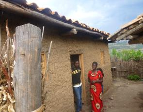 PMI AIRS Team Leader Esperance used her extra income to build a house for her and her four adult children. Photo: AIRS Rwanda