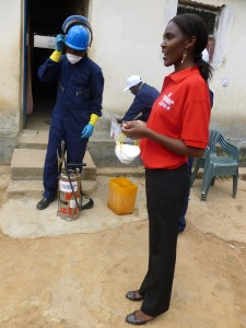 Jorgina K. Jorge coordinated the PMI AIRS Project's IRS program in Huambo Province from 2008-2014. Photo: The PMI AIRS Project.